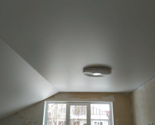 с освещением Матовые натяжные потолки
