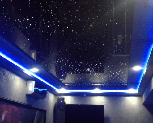 натяжной потолок космос