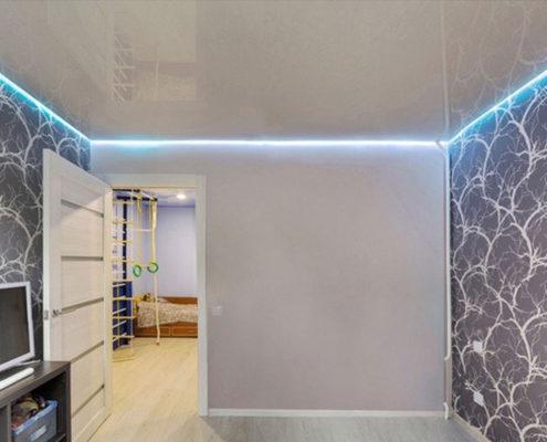 заказать парящий потолок с подсветкой