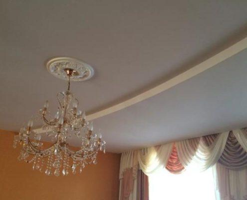 монтаж Тканевые натяжные потолки