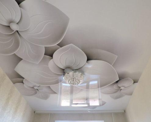 3д натяжной потолок