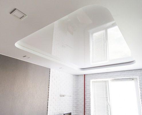 Натяжные потолки под ключ архитектурный