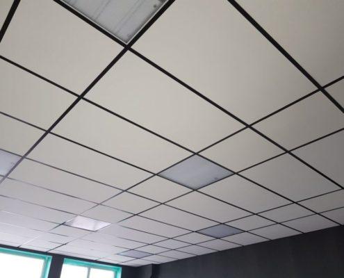 установка подвесного потолка типа армстронг